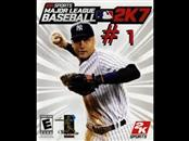 MICROSOFT Microsoft XBOX Game MAJOR LEAGUE BASEBALL 2K7